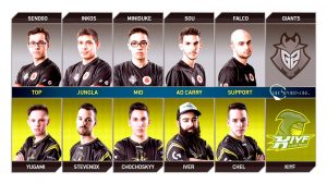 equipo profesional de gamers